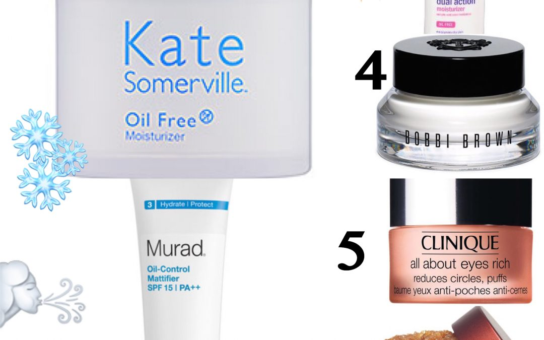 My Favorite Winter Skincare Products